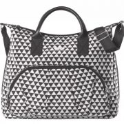 Torba dla mam Joissy - ENJOY - BLACK TRIANGLES