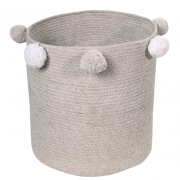 Kosz Baby Basket Bubbly Grey