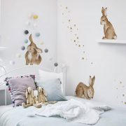 dekornik naklejki HAPPY RABBITS WONDERLAND